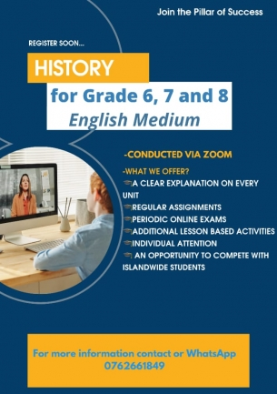 HISTORY FOR GARDE 6 7 AND 8 IN ENGLISH MEDIUM
