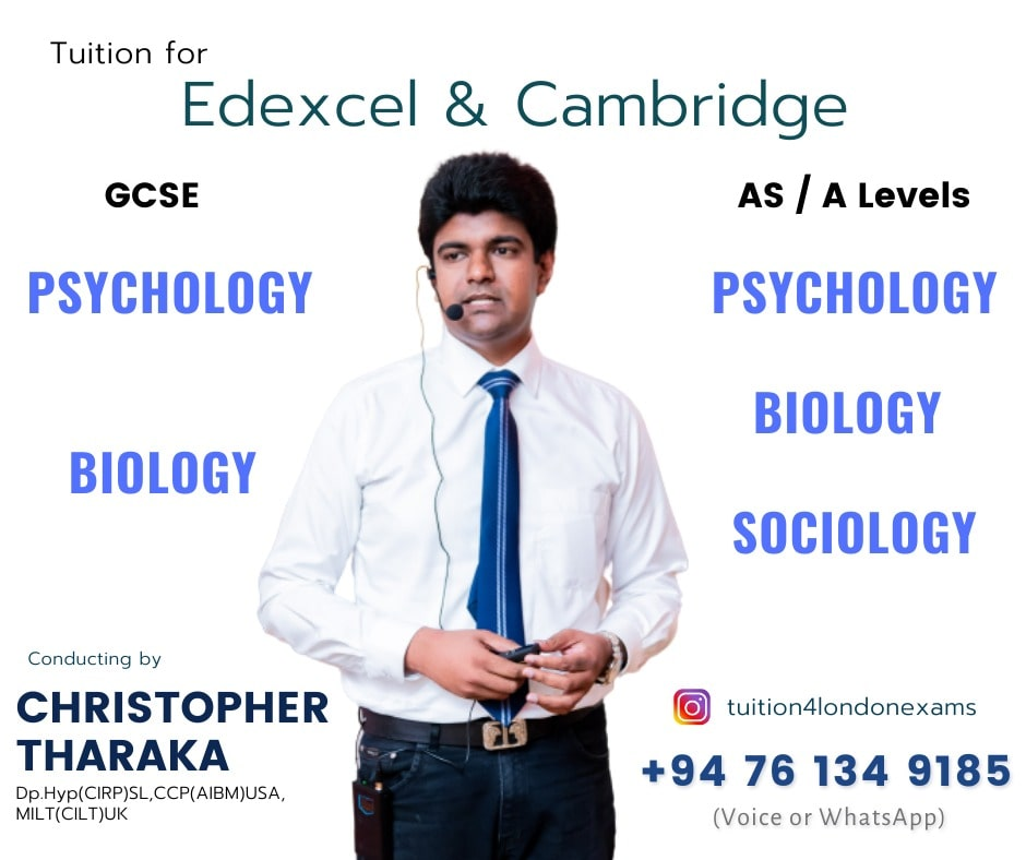 Edexcel & Cambridge - Psychology, Biology, and Socialogy